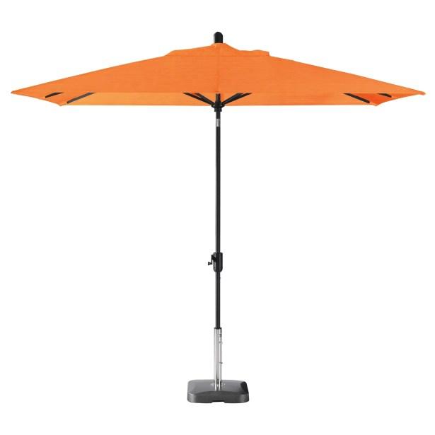 Wieczorek Auto Tilt 10' x 6.5' Rectangular Market Sunbrella Umbrella Fabric Color: Tuscan