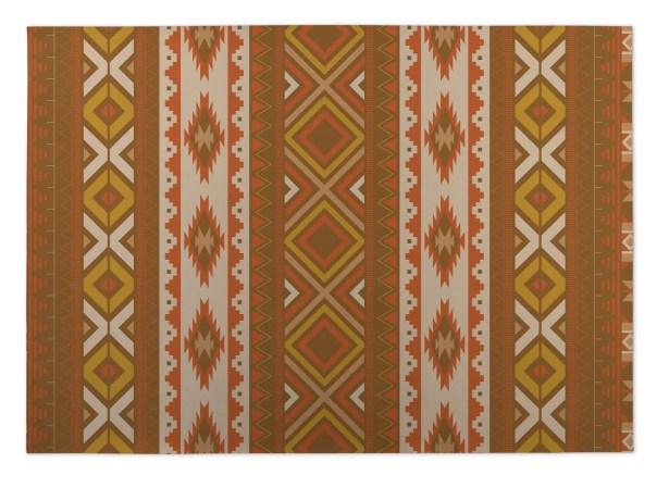 Rust Indoor/Outdoor Doormat Mat Size: Rectangle 5' x 7'
