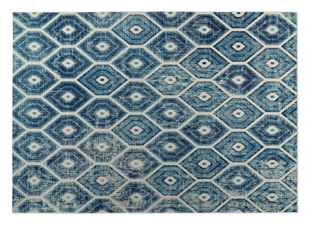 Denim Indoor/Outdoor Doormat Mat Size: Rectangle 8' x 10'