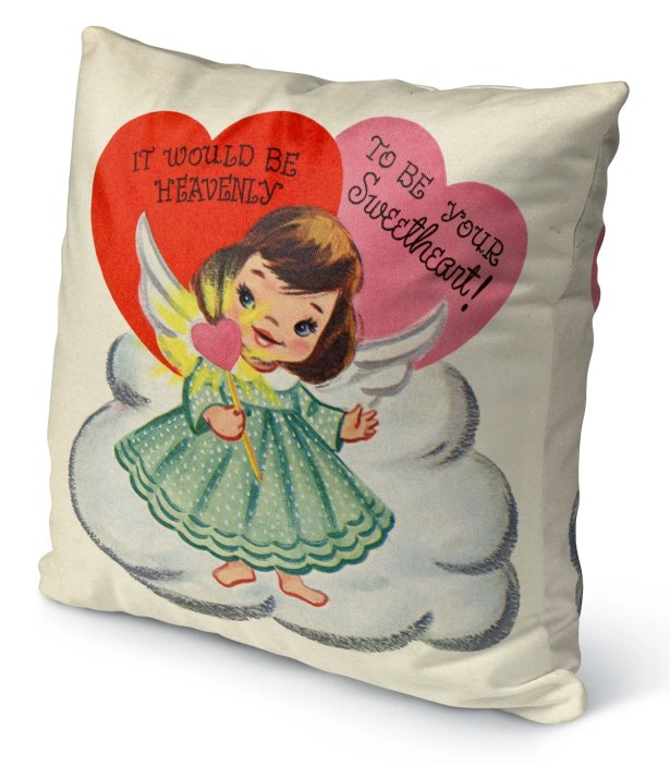 To Be Your Sweetheart Burlap Indoor/Outdoor Pillow Size: 26