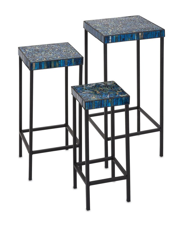 Shani 3 Piece Mosaic End Tables