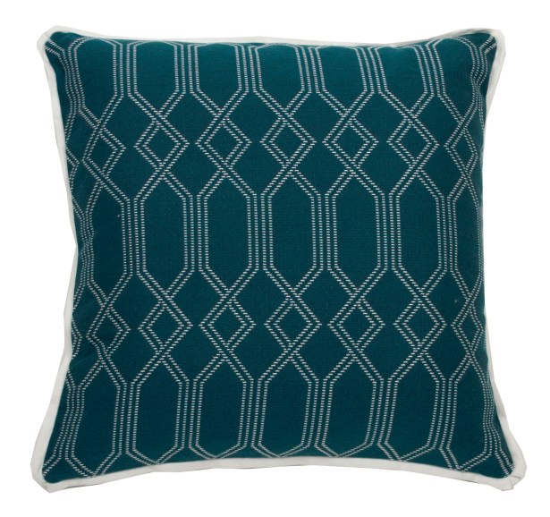 Connection Indoor/Outdoor Throw Pillow (Set of 2) Size: 20