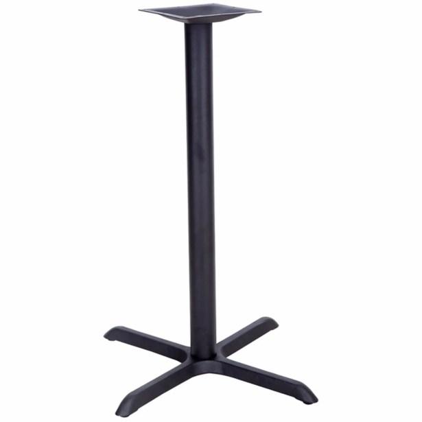 James Table X-Base with Bar Height Column