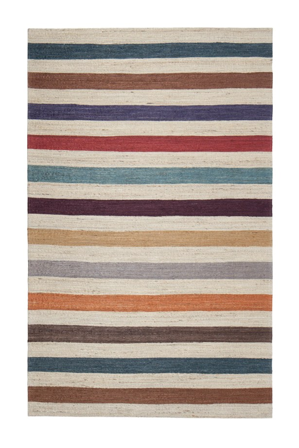 Broderick Hand-Woven Brown Area Rug Rug Size: 5' x 7'