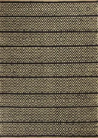 Lenore Black Horizon Rug Rug Size: 8' x 10'