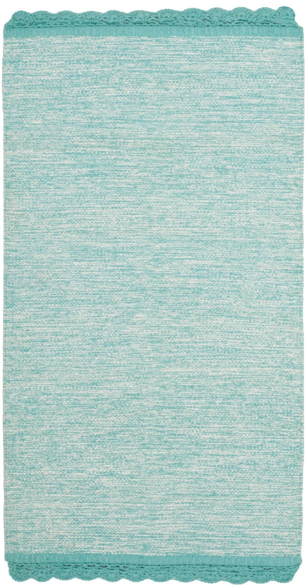 Mohnton Hand-Woven Turquoise/Gray Area Rug Rug Size: Rectangle 8' x 10'