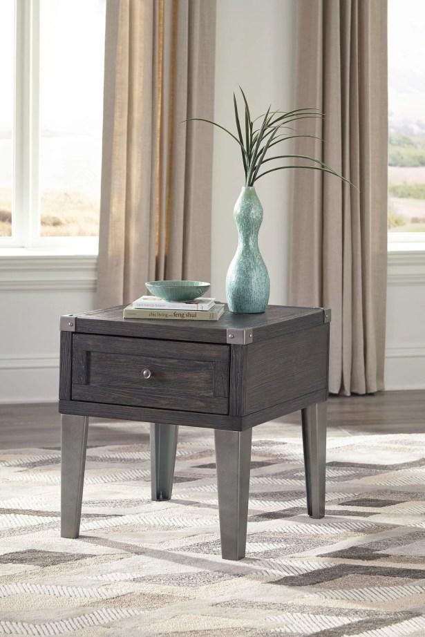 Hillcrest Rectangular End Table