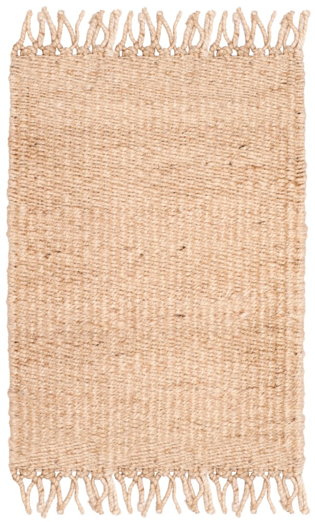 Lookout Fiber Hand-Woven Ivory Area Rug Rug Size: Rectangle 8' x 10'