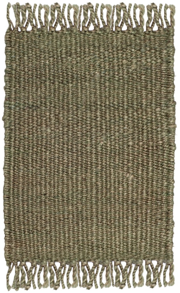 Lookout Fiber Hand-Woven Green Area Rug Rug Size: Rectangle 5' x 8'