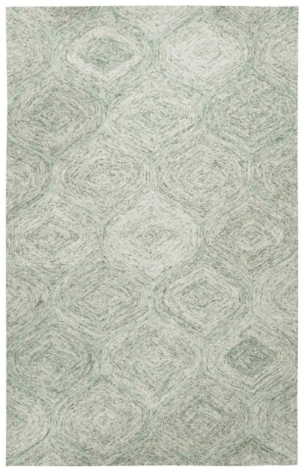 Marsh Hand-Tufted Green Area Rug Rug Size: Rectangle 5' x 8'
