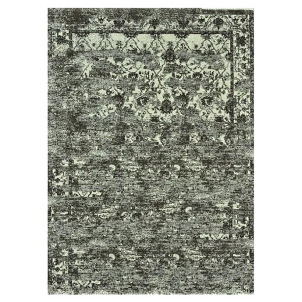 Khemis Mocha / Ivory Rug Rug Size: Rectangle 9'2