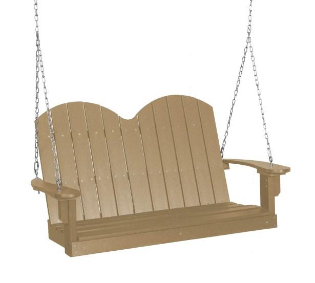 Sawyerville Savannah Porch Swing Finish: Weathered Wood