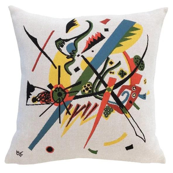 Kleine Welten I 1922  Throw Pillow