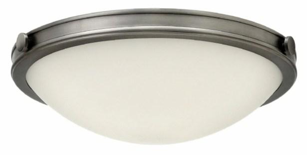 Maxwell 3-Light Flush Mount Finish: Heritage Brass, Bulb Type: LED