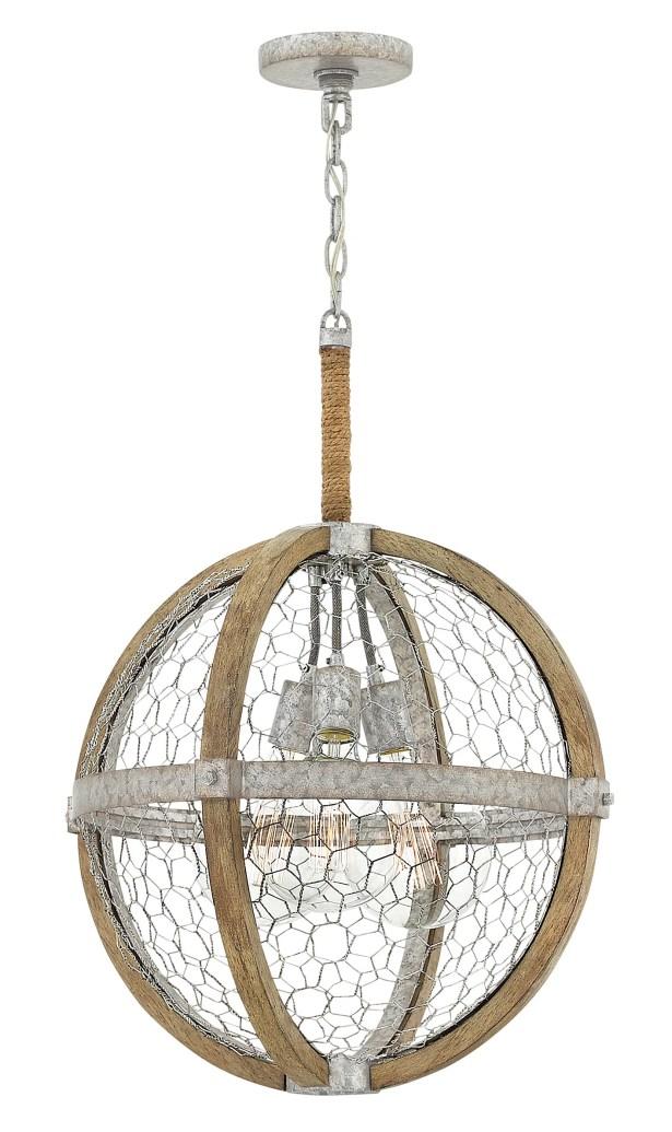 Heywood 5-Light Globe Pendant