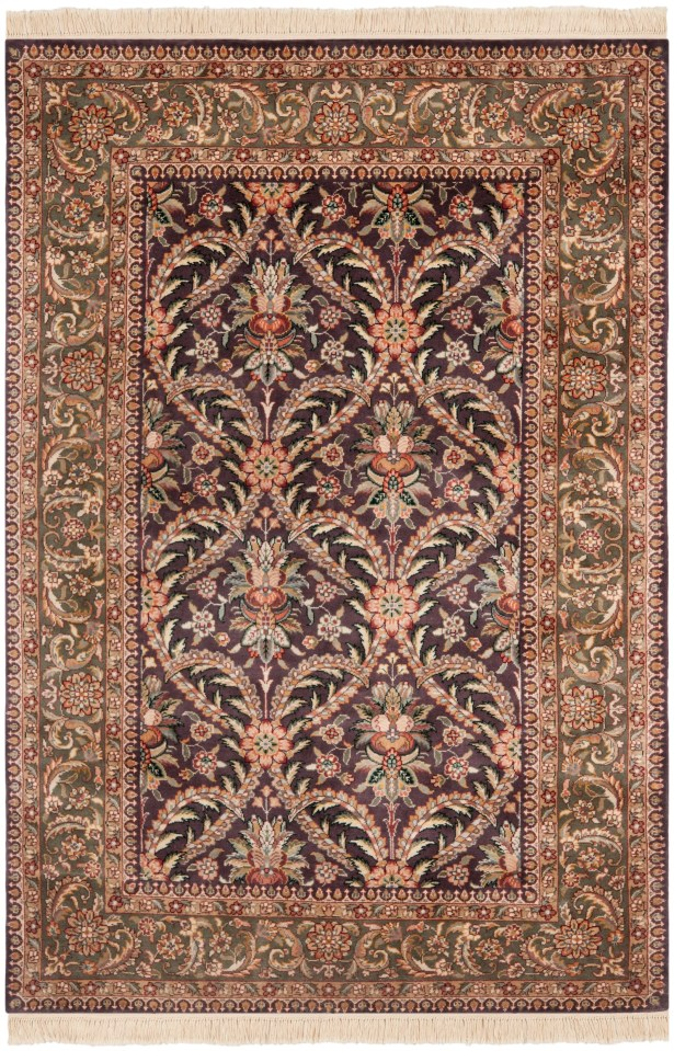 Royal Kerman Hand Knotted Area Rug Size: 8' x 10'