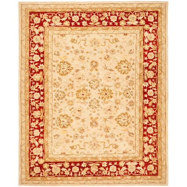 Pritchard Hand-Woven Wool Area Rug Rug Size: Rectangle 4' x 6'
