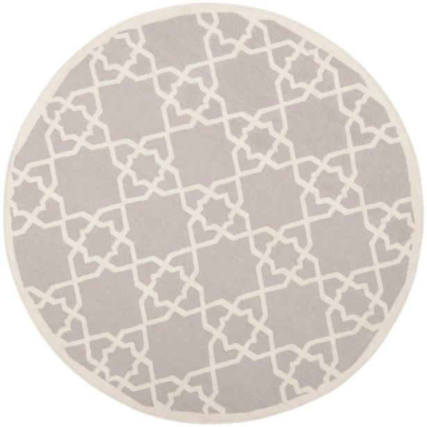 Dhurries Hand-Woven Wool Purple/Ivory Area Rug Rug Size: Rectangle 9' x 12'
