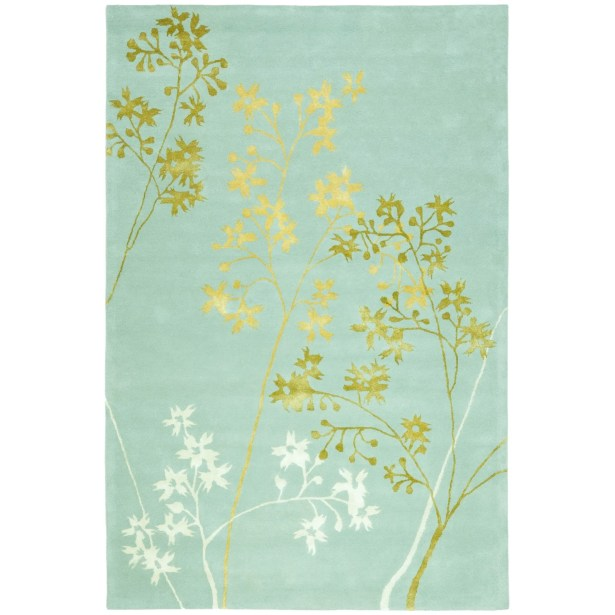 Chiara Light Blue Area Rug Rug Size: Rectangle 6' x 9'