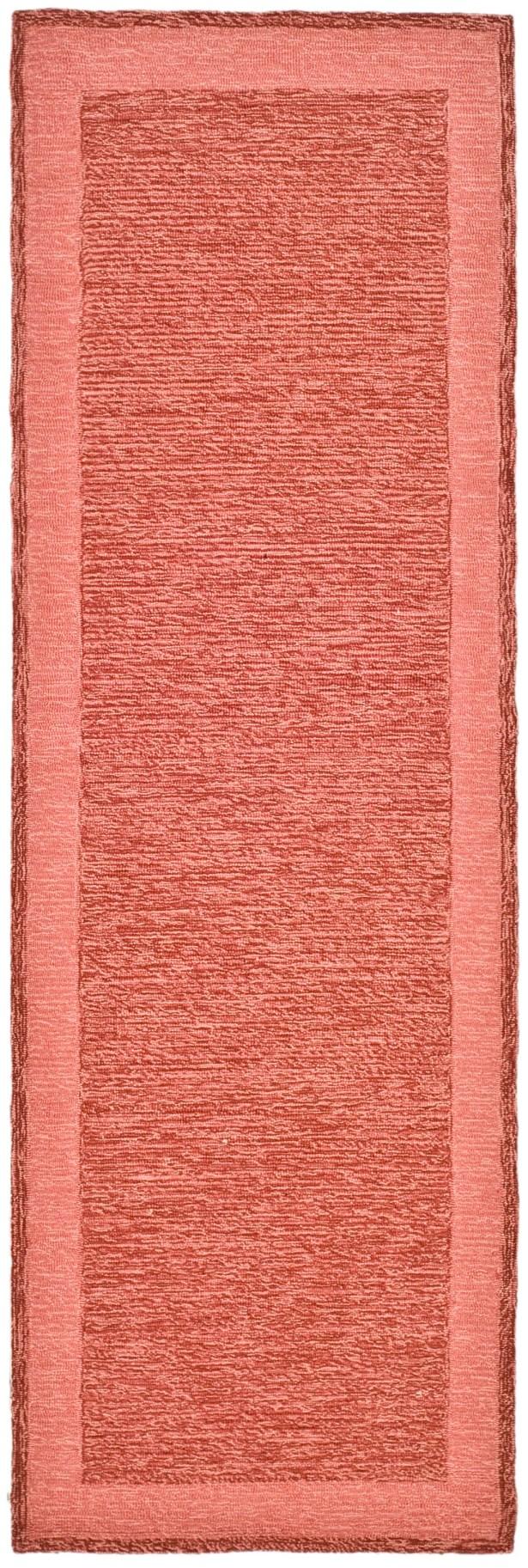 DuraRug Red Area Rug Rug Size: Runner 2'6