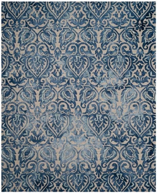 Brennan Hand-Tufted Wool Royal Blue Area Rug Rug Size: Runner 2'3