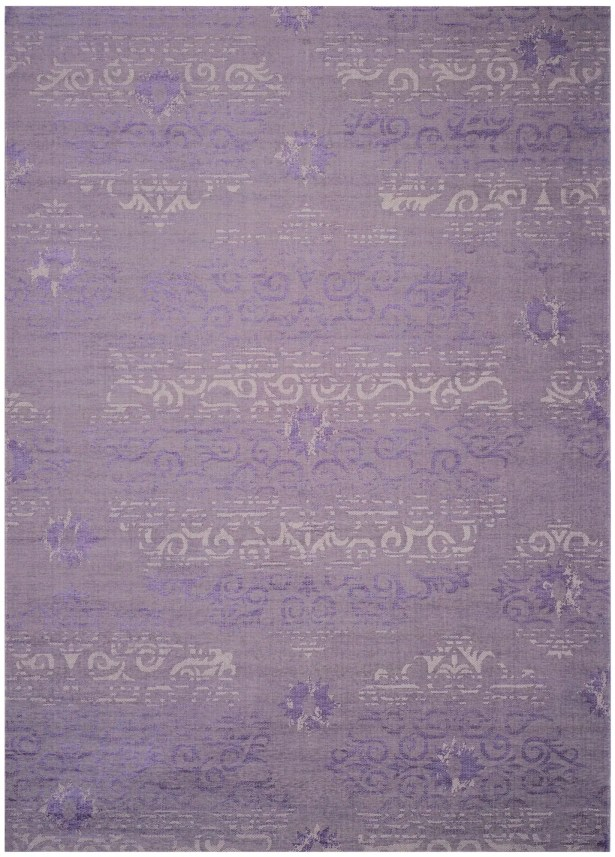 Port Laguerre Purple Area Rug Rug Size: Rectangle 4' x 6'