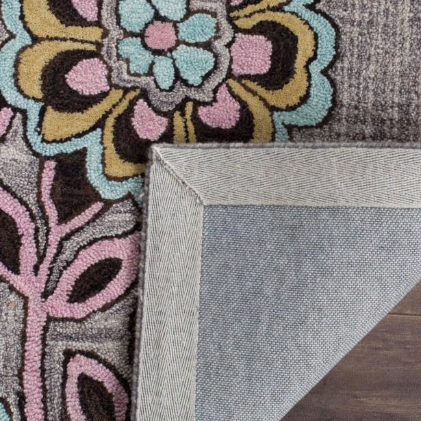Warrington Hand-Tufted Gray Area Rug Rug Size: Rectangle 4' x 6'