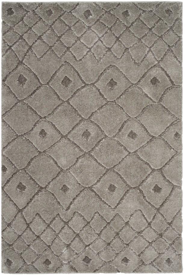 Atisha Gray Area Rug Rug Size: Rectangle 5' x 7'6