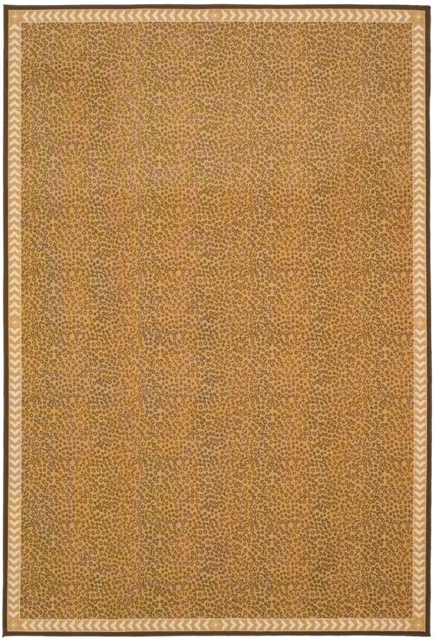 Metropolis Camel/Brown Rug Rug Size: Rectangle 4'7