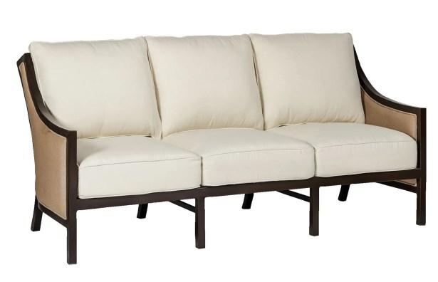 Barcelona Patio Sofa with Cushions