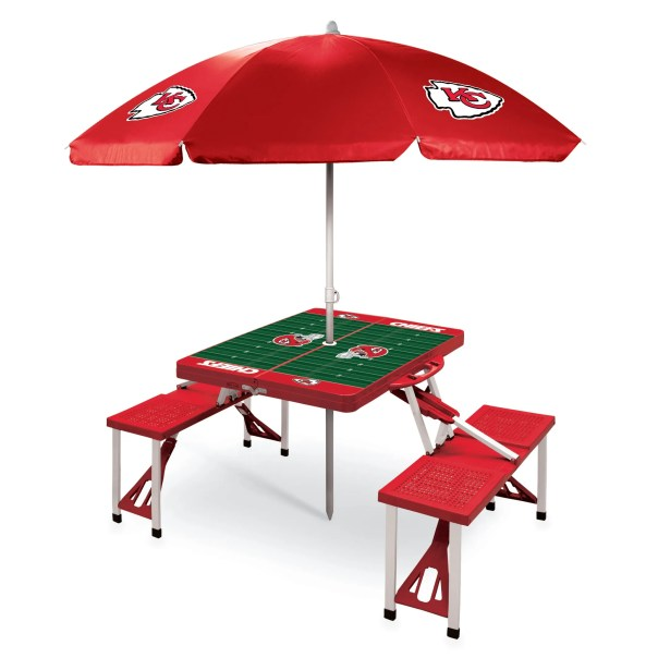 Picnic Table NFL Team: Kansas City Chiefs/Red