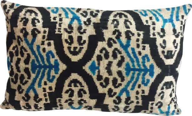 Velvet Lumbar Pillow