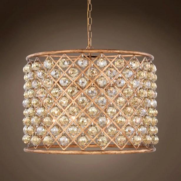 Lulsgate 8-Light Chandelier Finish: Gold, Shade Color: Golden, Bulb Type: Incandescent