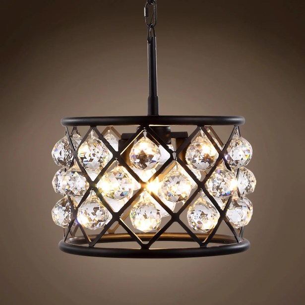 Lulsgate 3-Light Chandelier Shade Color: Clear, Finish: Gray, Bulb Type: LED
