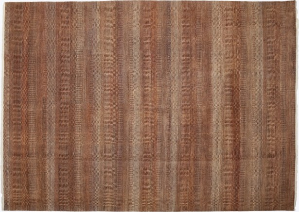 One-of-a-Kind Savannah Hand-Knotted Red Area Rug