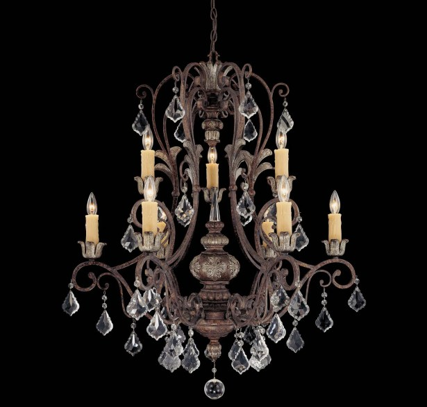 Mariposa 9-Light Candle Style Chandelier