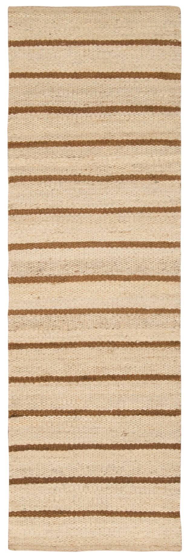 Laflin Hand-Woven Brown/Wheat Area Rug Rug Size: Rectangle 5' x 7'6