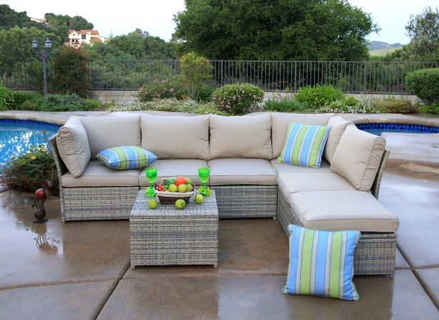 Steinfeldt 7 Piece Sectional Seating Group with Cushions