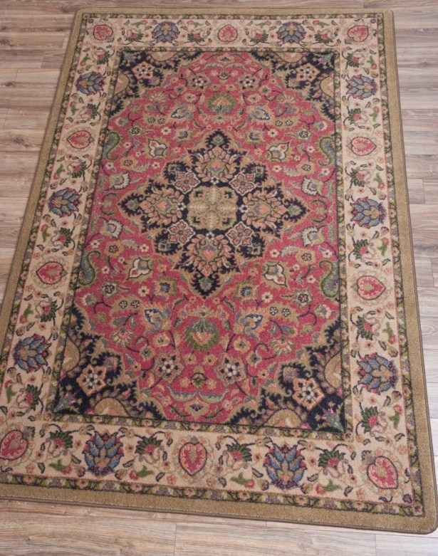 Robert Caine Montreal Rosette Area Rug Rug Size: Rectangle 3' x 4'
