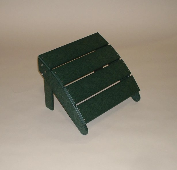 Traditional Ottoman Finish: Green