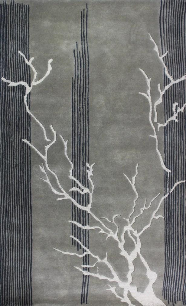 Clarkesville Grey Rug Rug Size: 8' x 11'