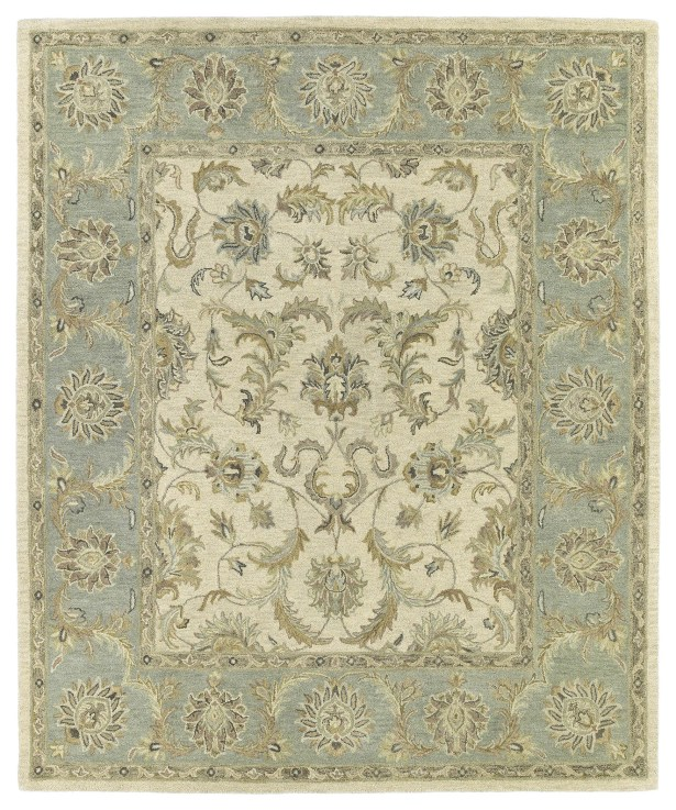 Chisolm King David Ivory Area Rug Rug Size: Rectangle 4' x 6'
