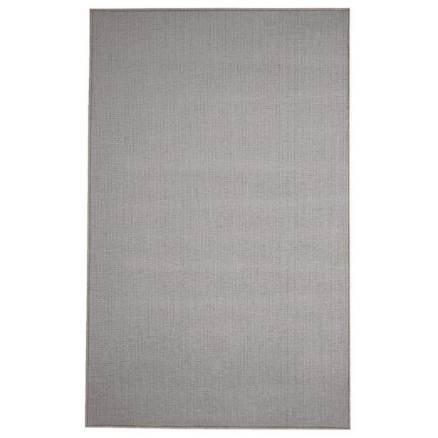 Pamela Wool Charcoal Area Rug Rug Size: 9' x 12'