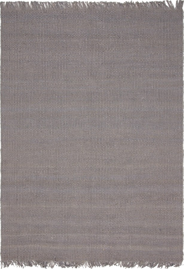 Gelman Hand-Woven Gray Area Rug Rug Size: Rectangle 4' x 6'