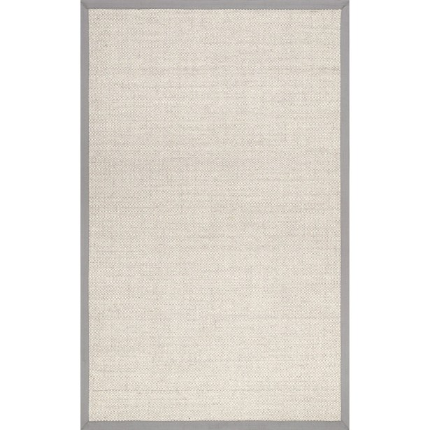 Alvardo Gray Area Rug Rug Size: Rectangle 3' x 5'
