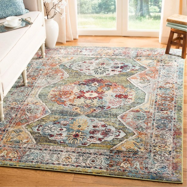 Mcintosh Green Area Rug  Rug Size: Runner 2'3