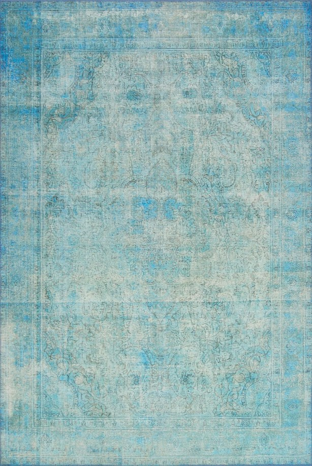 Rakesh Aqua Area Rug  Rug Size: Rectangle 8'4