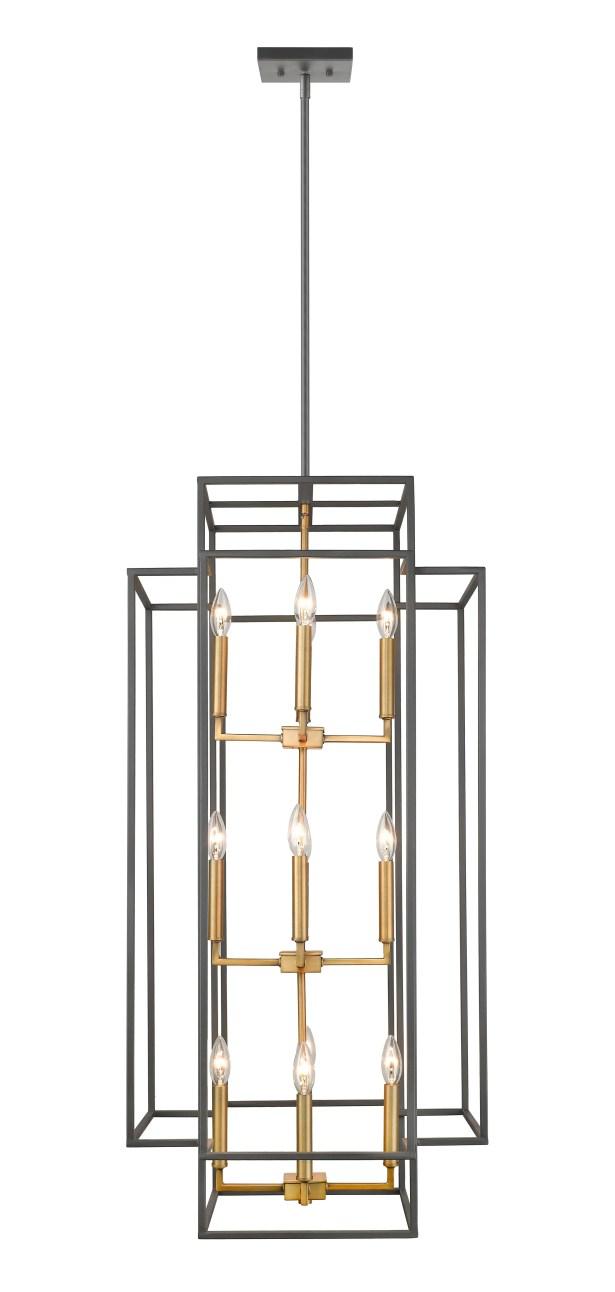 Bedingfield 12-Light Lantern Pendant Finish: Bronze/Olde Brass