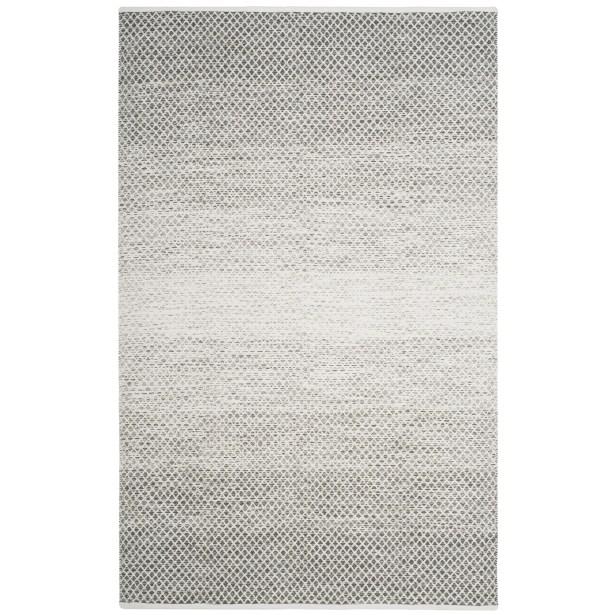 Amaya Hand Woven Gray Area Rug Rug Size: Rectangle 5' x 8'