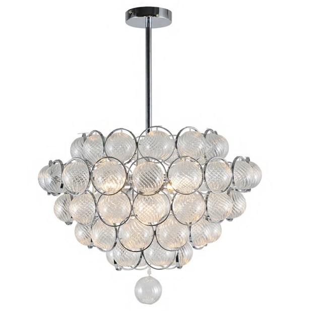 Pitcock Ball 6-Light Crystal Chandelier